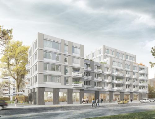Wohngebäude mit Einzelhandelsnutzung und Tiefgarage Zaubzerstr.